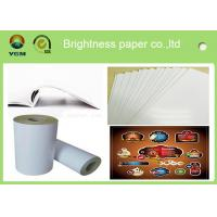China 80gsm - 250gsm Glossy Invitation Paper , Glossy White Paper Offset Printing for sale