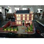 China Resort Hotel Miniature Architectural Models , 3d Table Display Maquette Mockup for sale