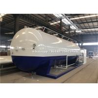 40000L Mobile LPG Bulk Storage Tank Custom Logo And Color With 2 Filling Scales for sale