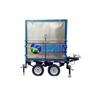 Double Axle Mobile Type Transformer Oil Purifier ZYD - M - 100 6000LPH for sale