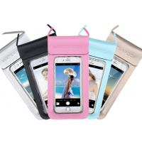 China 0.3mm Environmental PU + TPU Waterproof Cell Phone Pouch For Promotional Gifts for sale