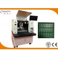 None Touch Depaneling Solution Dual Table PCB Laser Cutting Machine for sale