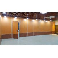 Floor To Ceiling Acoustic Folding Partition Walls System Singapore Customized Color for sale
