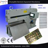 China 450mm Rigid Thickness V Groove PCB Depanelizer With 2 Japan Linear Blades for sale
