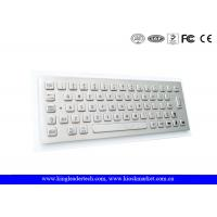 Dust-Proof Industrial Mini Keyboard Customizable With 64 Full Travel Metal Keys for sale