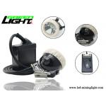 ABS material 6.6Ah li-ion battery 10000lux brightness rechargeable led mining light for sale