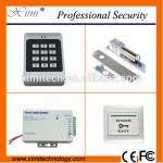 China Standalone access control magnetic bolt lock exit button 12V power supply F005 smart access control kit for sale
