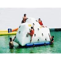 14′ Inflatable Climbable Iceberg For Summary Holiday , Inflatable Water Games