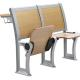 1.5mm Steel Back Plywood Wooden Folding Chairs With Drawer / School Classroom Furniture for sale