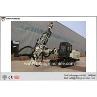 Open Top Hammer and Unique Telescopic Arm Structure DTH Drill Rig Machine for sale