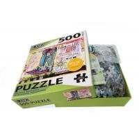 500pcs Paper Children'S Board Puzzles For 2 3 5 Year Olds Toddlers Offset Printing for sale