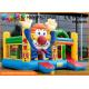 Customized Commercial Bouncy Castles Cartoon Printing For Outdoor Playground for sale