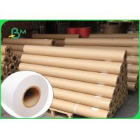 Strong Stiffness 80g CAD Plotter Paper Roll For Engineering Drawing 36 Inch Width for sale
