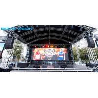 Stage Event RGB SMD P4.81 Outdoor Nationstar Rental LED Display With Die-casting Aluminum Cabinet for sale