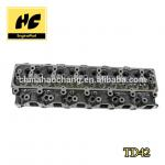 Provide More Brand TD42 Auto parts Engine Cylinder head assy used For Nis san OE No 11039 06J00 for sale
