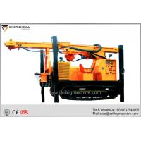 Crawler Reverse Circulation Exploration Drill Rig Machine With 8500nm Rotary Torque Φ115-Φ350 mm Drilling Dia for sale
