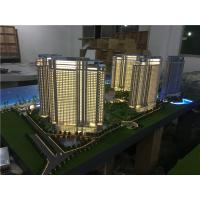 China 1/75 Scale Architectural House Models Builder With Light / High Rise Scale Residential Maquette for sale