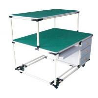 Customized Size Heavy Duty Workbenches Aluminum Alloy Joint Easy To Install for sale