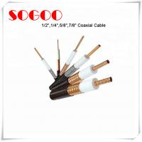 China Coaxial Cable 1/2 3/4 7/8 RF Feeder Cable For Telecom RoHS Approval supplier