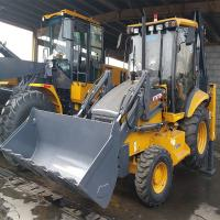 7.3T Heavy Earth Moving Machinery , Backhoe Loader WZ30-25  With 0.3m Digger Capacity