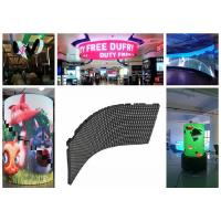 High Definition Soft P2.5 Flexible LED Display Video Screens Ring shape Crown for sale