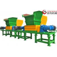 China Low Speed Double Shaft Shredder Overload Automatic Recerse 30kW*2 Motor for sale