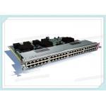WS-X4748-RJ45V+E CISCO Catalyst 4500E Series 48 Port PoE 802.3at Line Card for sale