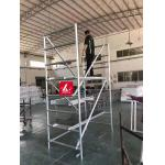 Work Bench Aluminium Scaffolding Frames Portable Scafolding Adjustable Work for sale