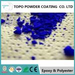 Electrostatic Thermoset Architectural Powder Coatings , RAL1024 Heat Proof Powder Coating for sale