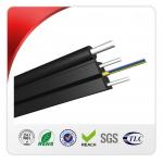 2 Core Outdoor FTTH Drop Cable HS Code 8544700000 With Steel Wire Strengthen