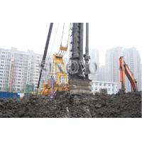 China Hydraulic Piling Rig with Drum Capacity 350m Leader Length 36m supplier
