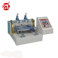 Friction Color Fastness Leather Testing Machine For Leather Shoes 220V 50hz for sale