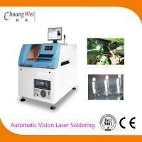 CCD Coaxial Positioning Automatic Vision Laser Hot Bar Soldering Machine for sale