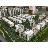 China 1/150 Diorama  Miniature Architectural Models For Isreal Residential 2.2x1.5m for sale