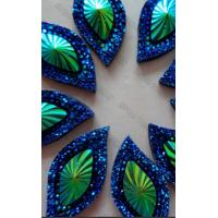 China Decorative Colored  PVD Coating Service, Glass beads, Crystal parts PVD decorative coatings supplier