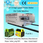 Automatic Carton Folding Machine / Corrugated Box Making Machines for Paperboard for sale