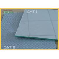 China CAT I And CAT II Mirror Glass Safety Backing Film Woven Fabric Film for sale