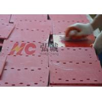 Red Grinded UPGM 203 Insulation Sheet With Rohs Reach High Compressive Strength for sale