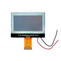 Monochrome Graphic Custom LCD Module , 128 x 64 3.3V Backlight Chip On Glass LCD Display for sale