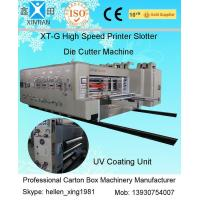 China Corrugated Carton Making Machine 15kw - 30kw With 0.5mm High Topping Precision for sale
