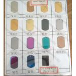 Jewerlry PVD AB color coating, PVD plating of Rainbow decorations