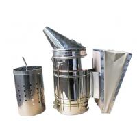 China Galvanized Bee Smoker  with Inner Tin M and L Size of Bee Hive Smoker supplier