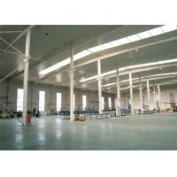Stable Structural Steel Frame Construction Prefabricated Warehouse Buildings for sale