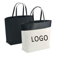 Customized Logo Printed Gift Bag Bucket Shape Paper Bag With Plastic Handle 250x270x100mm for sale