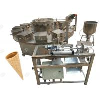 China Electric Ice Cream Waffle Cone Machinery Factory Use 1000PCS/H Three Phases for sale