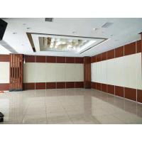 Fabric Finish Space Saving Movable Acoustic Partition Wall For Conference Room for sale