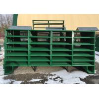 China Portable heavy duty 1.8m metal cattle panels livestock horse for farm fence for sale