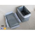 25mm Thermal Insulation Covers , Good Heat Insulator Materials JT8430TIJ-30 Gray Color for sale