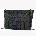 Diamond Lattice Luminous Single Shoulder Women'S Messenger Bag for sale