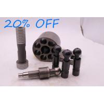 Cylinder Block Black Piston Shoe Servo Piston Valve Plate for Excavator Pump Spare Parts for sale